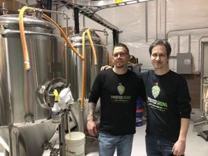 Twisted Irons Brewery opens near Newark