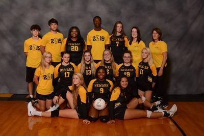 Newark High School girls volleyball