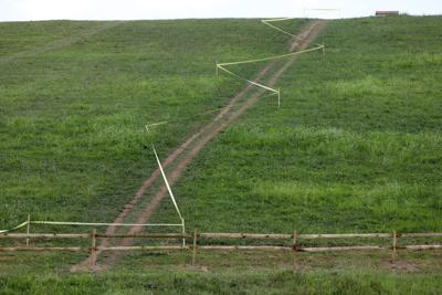 Reservoir fence