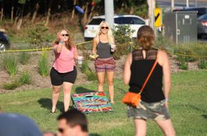Newark's pop-up beer garden raised $2,000 for charity