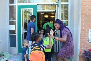 Excitement, nervousness as Christina students head back to school