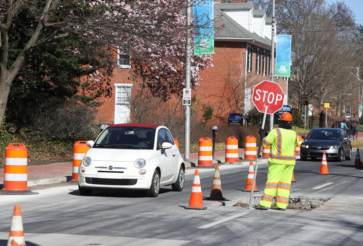 Main Street construction - Day 1