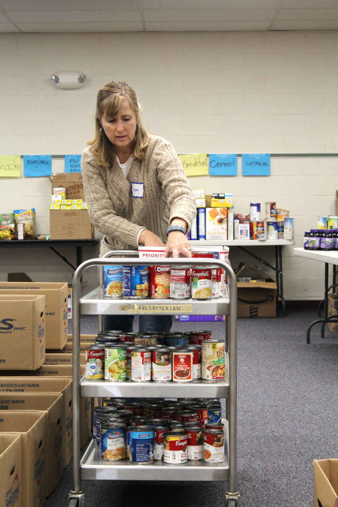 Newark Area Welfare Committee S Annual Holiday Food Drive