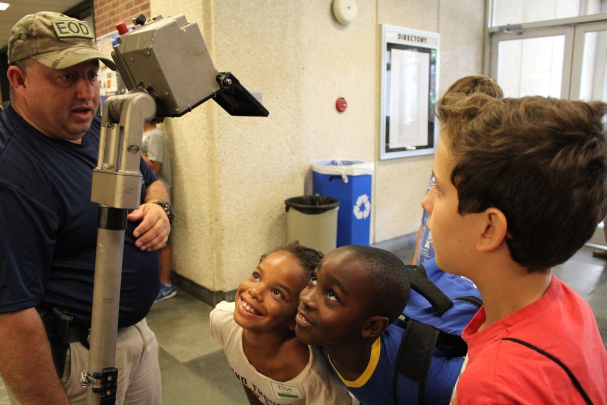 Summer camp teaches robotics, forensics | News