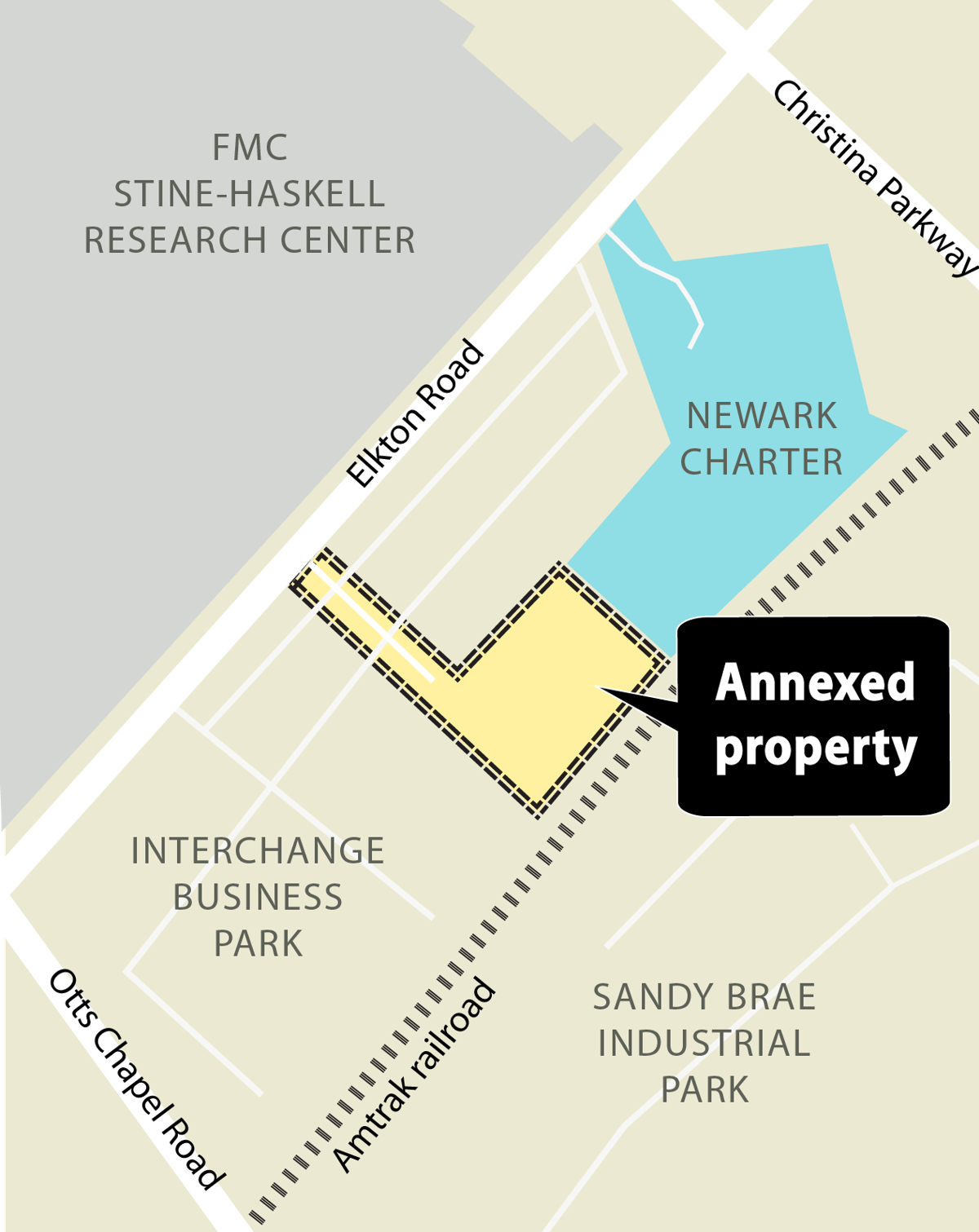 Newark Charter annexation