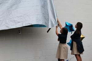 Student-designed mural unveiled at ASPIRA Academy
