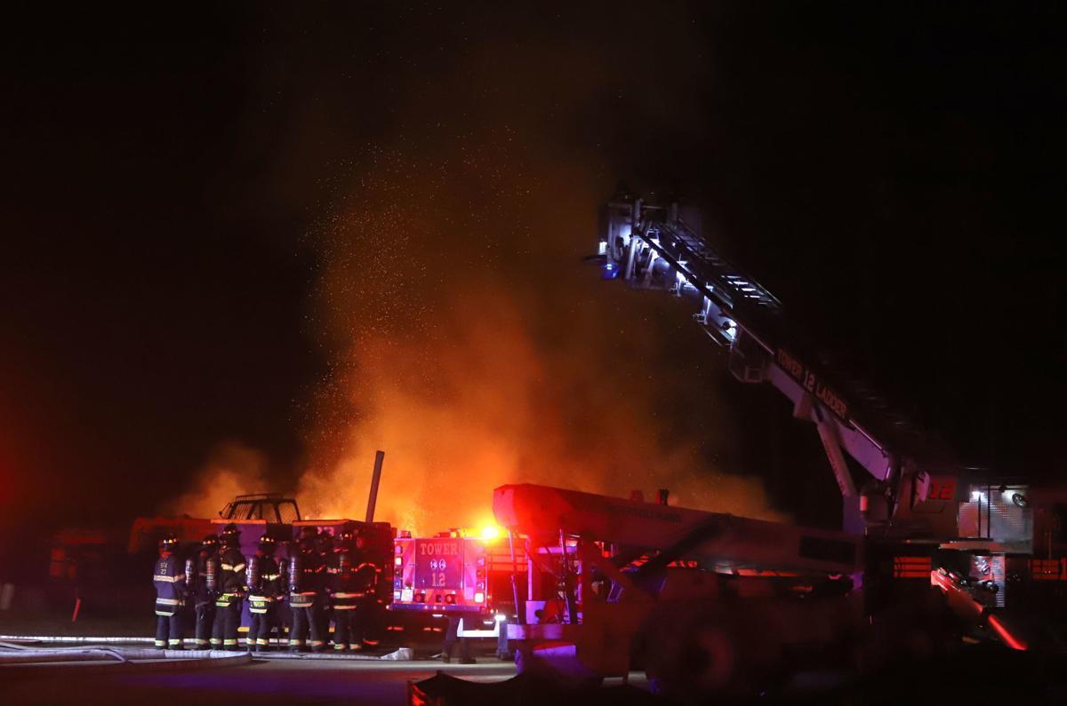 Chestnut Hill Preserve fire