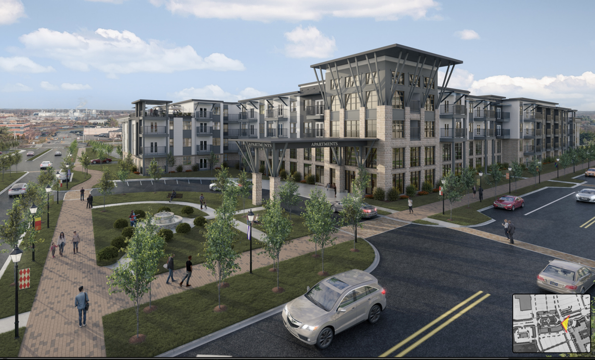 College Square redevelopment plan calls for apartments
