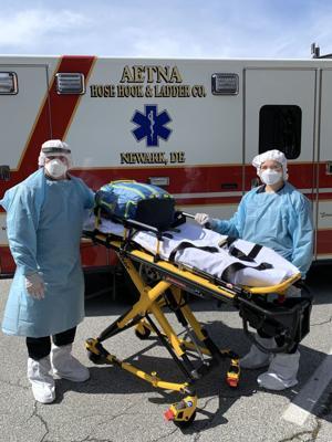 Newark's first responders take precautions to stay safe during coronavirus outbreak