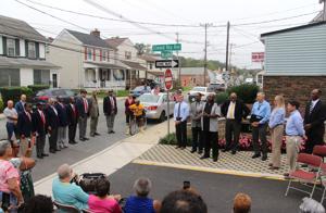 Newark street named for New London Road community leader