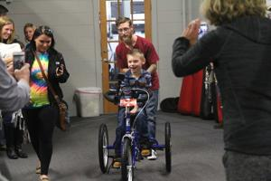 Adaptive bike donation provides 'a chance to be a kid'