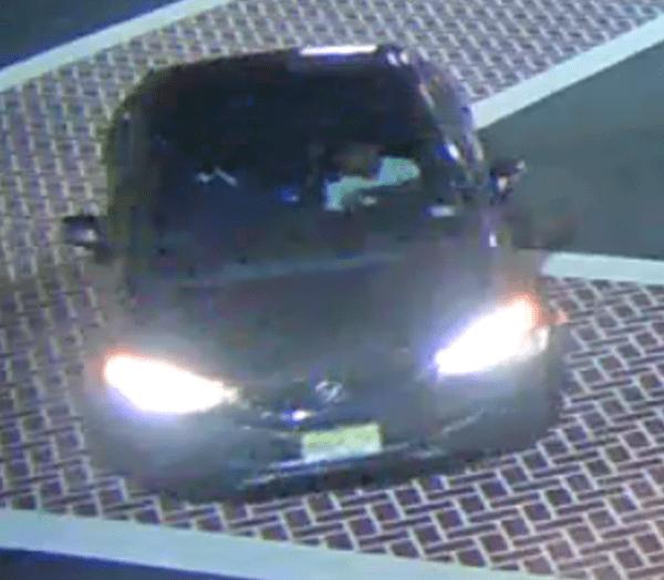 Suspect vehicle