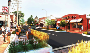 Two parklets approved for Main Street