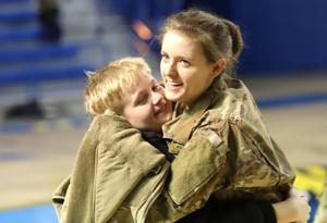 Ceremony welcomes home Delaware airmen