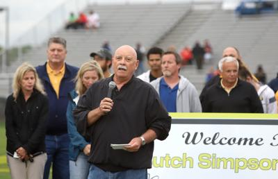 Butch Simpson field dedication