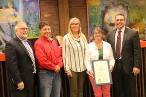 Newark High PTSA volunteer honored by city council, state legislature