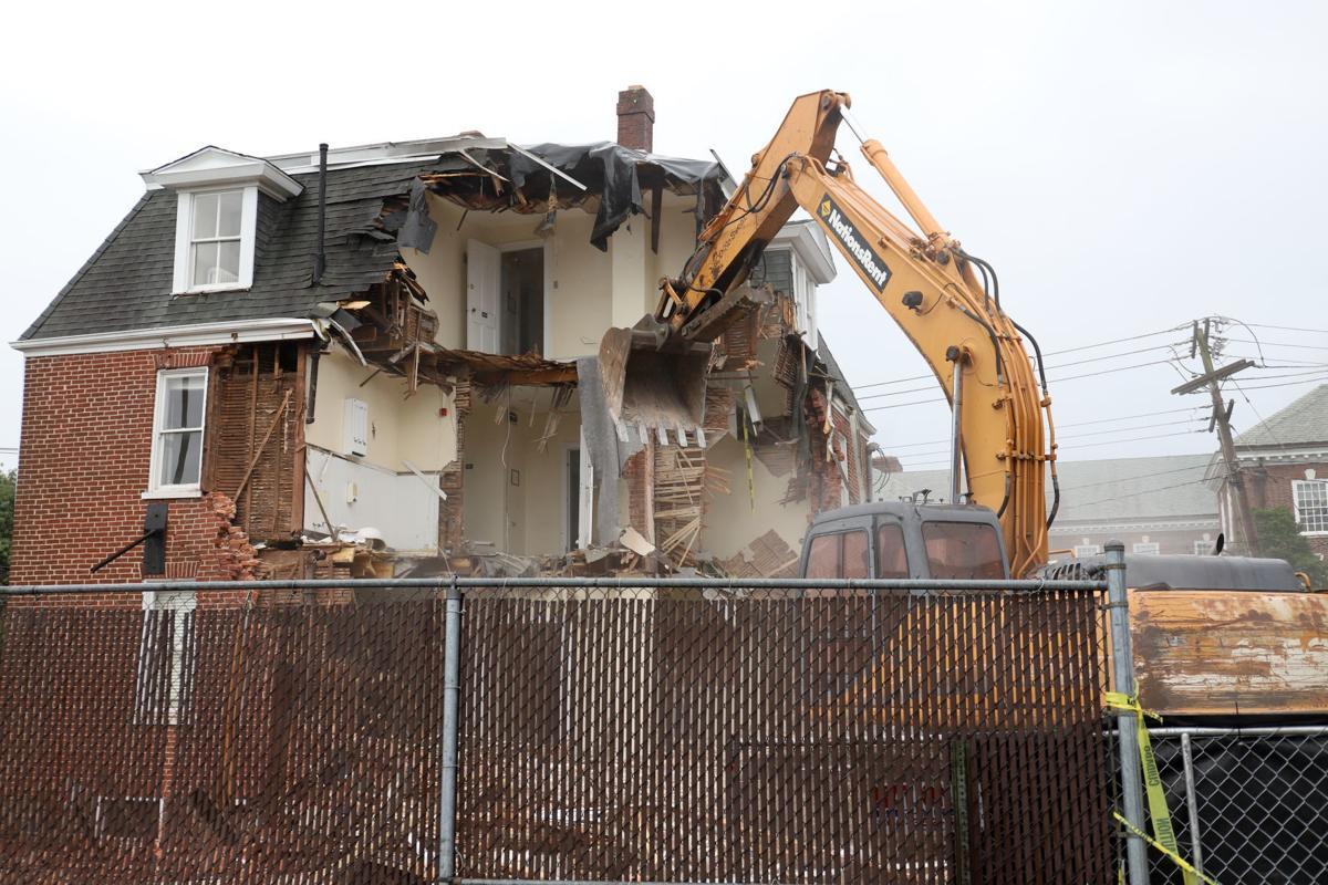 Lot 1 demolition