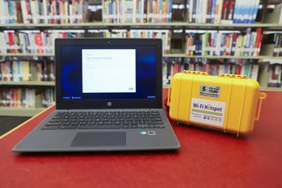 Library Chromebooks