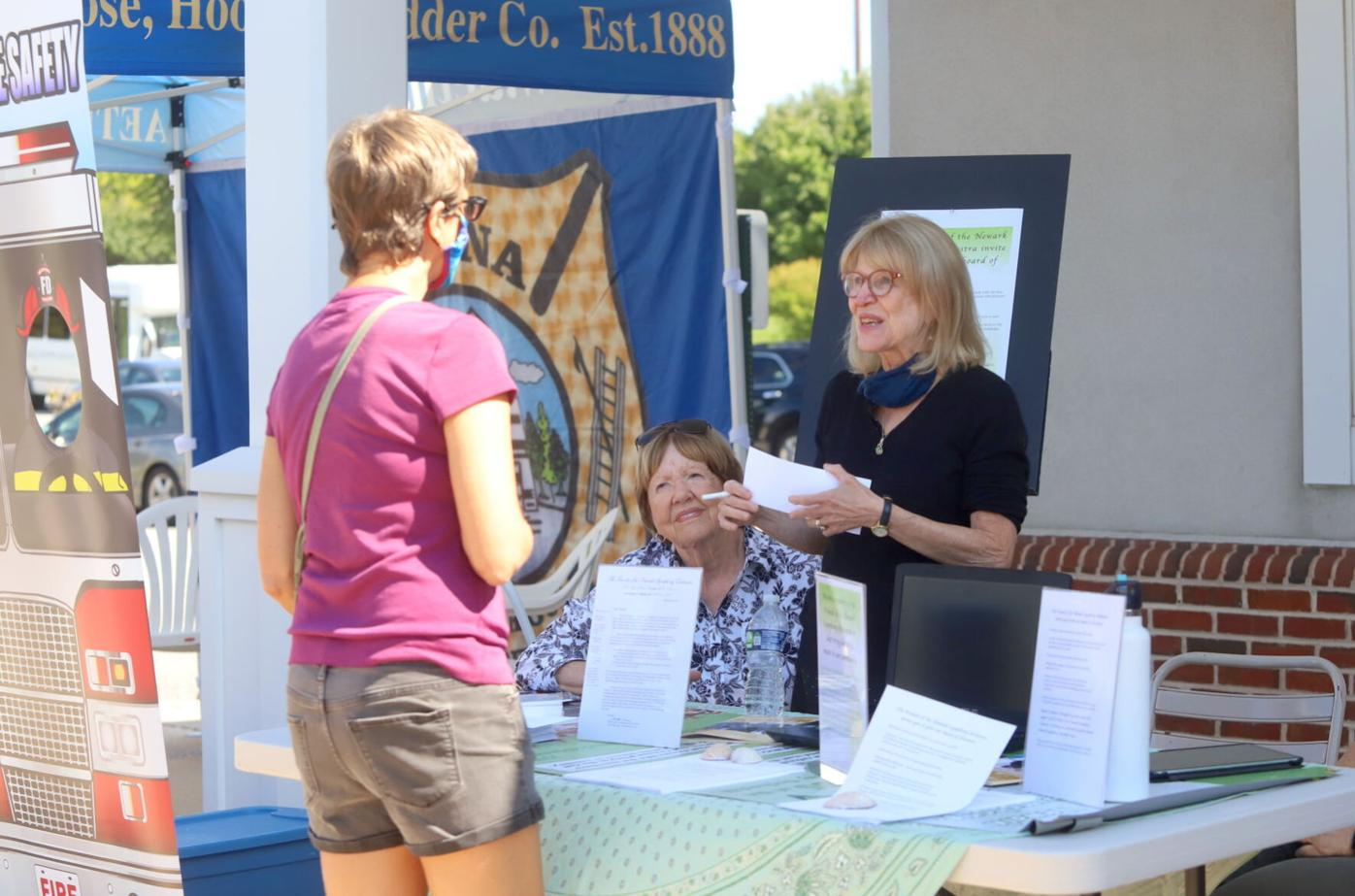Health and volunteer fair