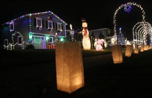 Luminary night tradition unites Windy Hills neighbors