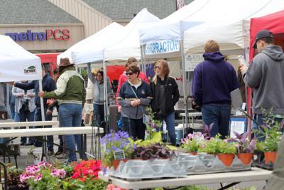 Farmers market opens for the season