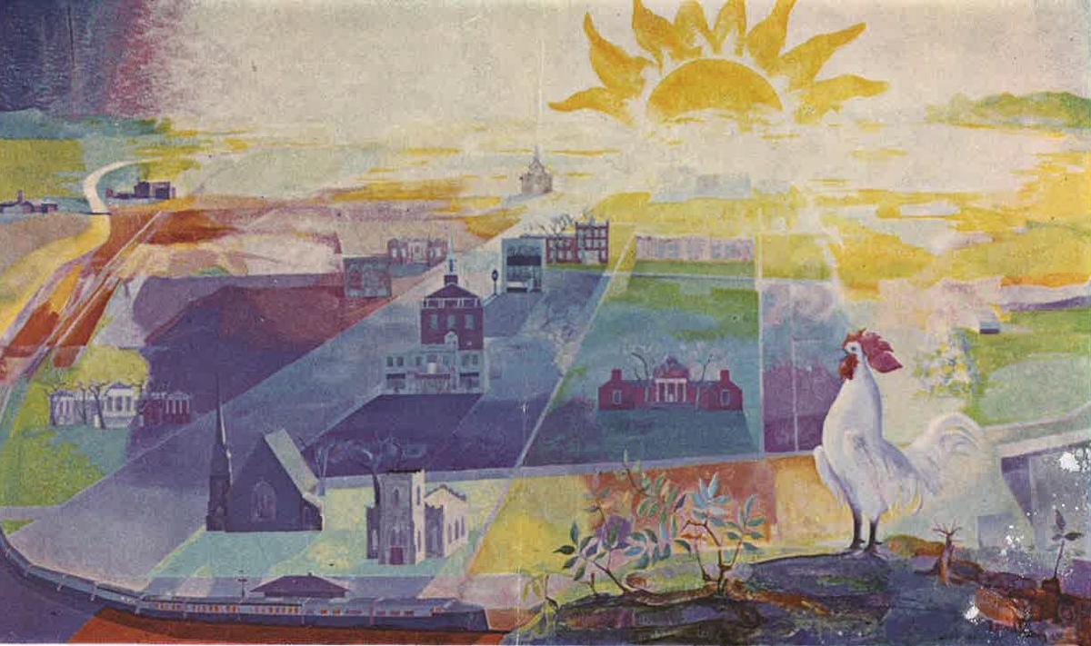Leo Laskaris mural