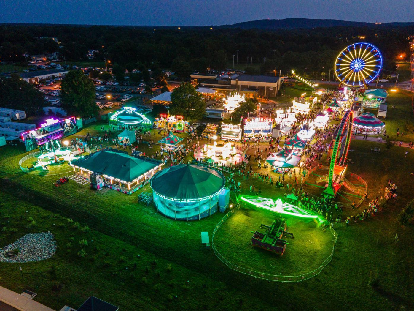 Summerfest aerial