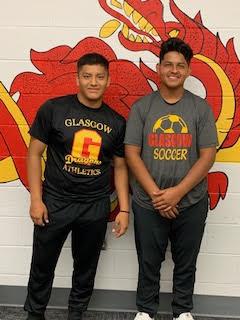 Glasgow boys soccer captains 2019