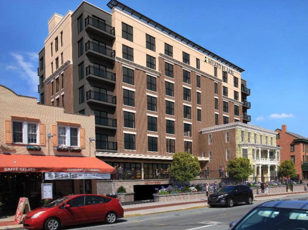 Lang hotel redesign
