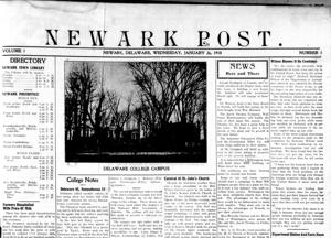 Newark Post archives now part of Library of Congress database