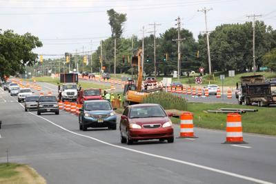Elkton Road lane closures