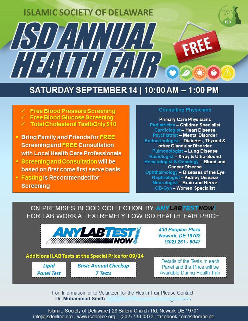 ISD Annual Health Fair