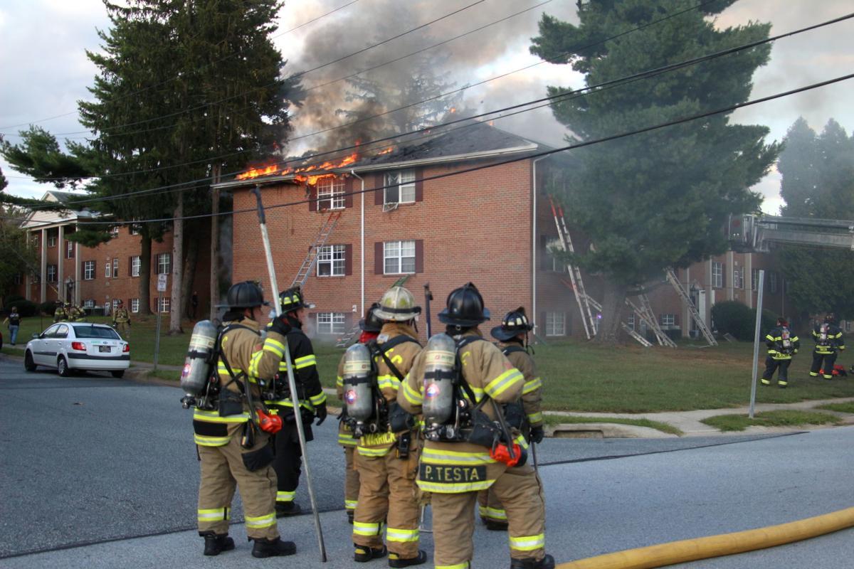 Fairfield Apartments fire