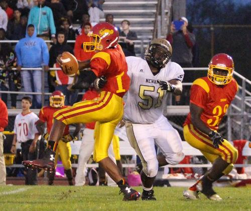 Defense Forces 6 Turnovers, Carries Newark To Victory Over