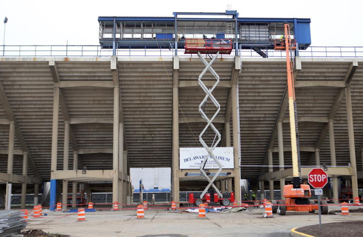 Delaware Stadium renovations