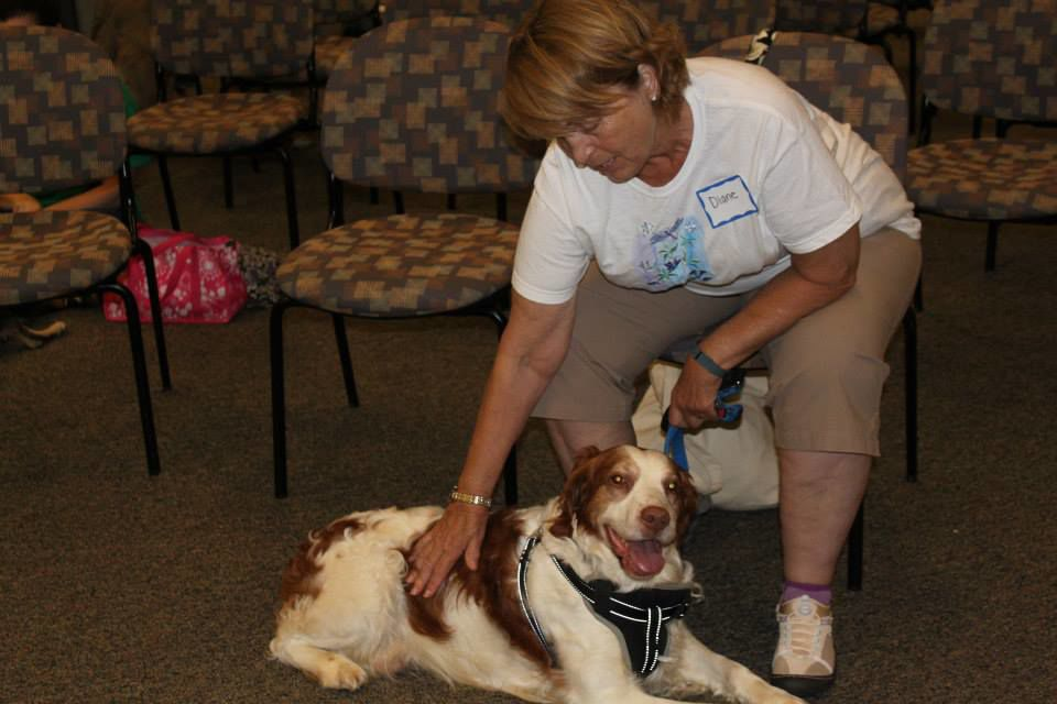 PAWS for People Therapy Team at Work