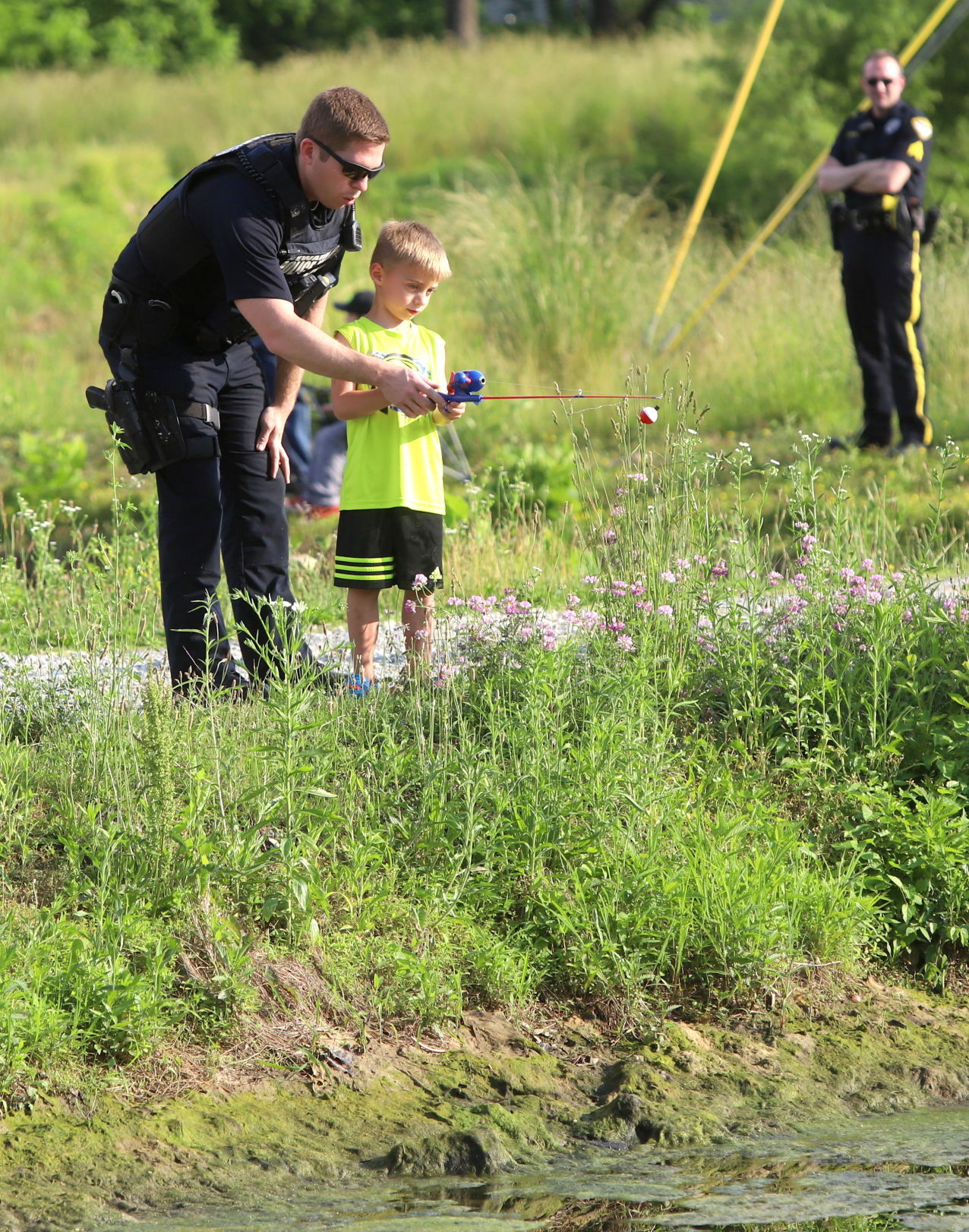 Fishing with First Responders