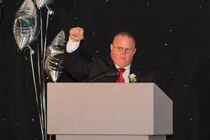 Special Olympics honors Newark powerlifter Jon Stoklosa