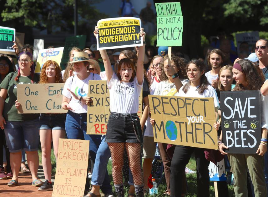 Newarkers, UD students join worldwide climate strike