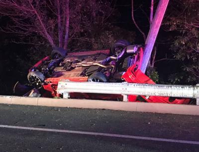 Christina Parkway crash