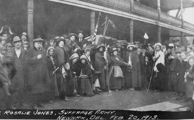 Out of the Attic: Suffragist Army marches through Newark