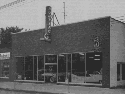 Out of the Attic: Trivits Pontiac showroom