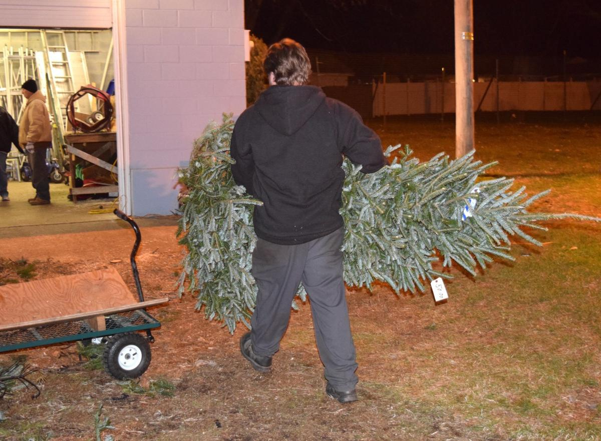 Brookside Lions Club Annual Tree Sale Hits Hard Times