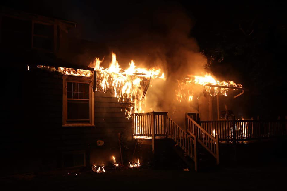 Chabad fire