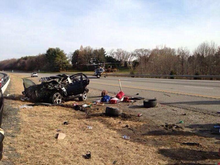 Six injured in I-95 rollover crash in Maryland | Regional