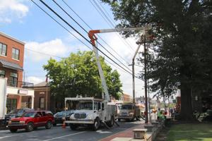 Electric work could cause delays on Main Street