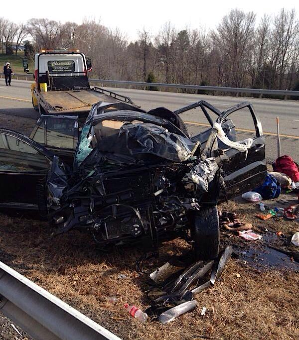 Six injured in I-95 rollover crash in Maryland | Regional