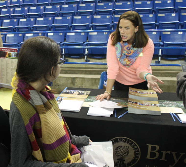 Annual College Fair Draws Hundreds