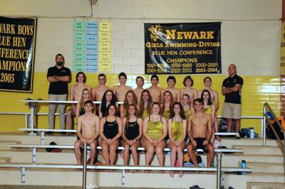 Newark High swim team