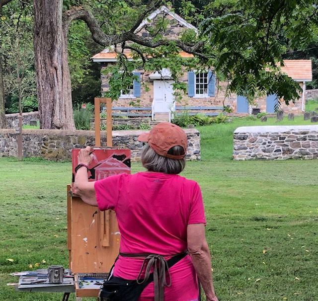 Plein-Air Painting at the Preserve
